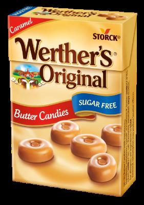 Werther's Original Minis cukormentes - Cukormentes tejszínes töltetlen keménycukorka, édesítőszerrel