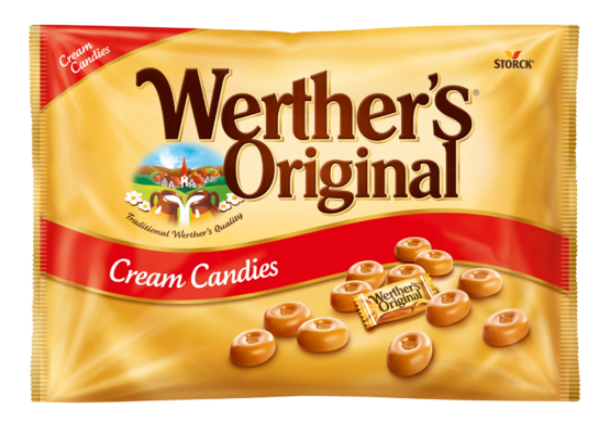 Werther's Original caramelle dure alla panna 1000g - Caramelle alla panna