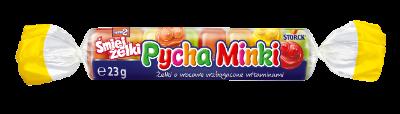 nimm2 Śmiejżelki Pycha Minki 23g - Żelki owocowe wzbogacone witaminami