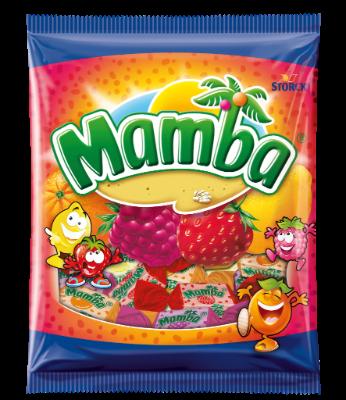 Mamba torebka 125g - Gumy rozpuszczalne o smaku owocowym