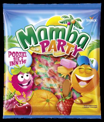 Mamba Party 150g - Gumy rozpuszczalne o smakach owocowych