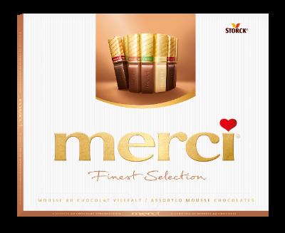 merci Mus czekoladowy 210g - Specjały czekoladowe nadziewane musem (40%)