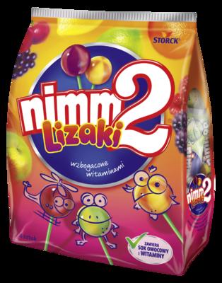 nimm2 lizaki 80g - Owocowe lizaki wzbogacone witaminami
