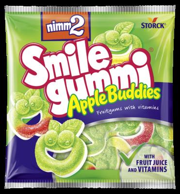 nimm2 Smilegummi Apple Buddies - Ovocné želé s vitamínami