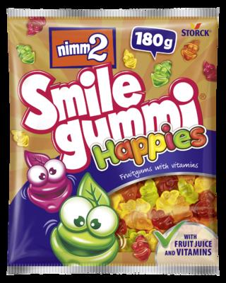 nimm2 Smilegummi Happies - Ovocné želé obohatené vitamínmi