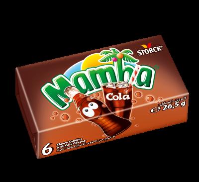 Mamba Cola - Karamelky.