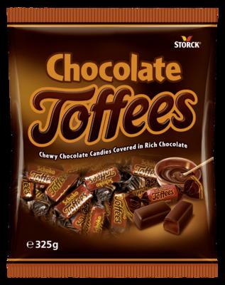 Chocolate Toffees - Čokoladove karamelky celomačane v čokolade (30%).