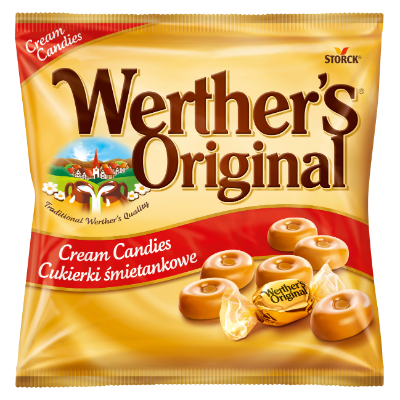Werther's Original Cream Candies - Smotanové karamelky