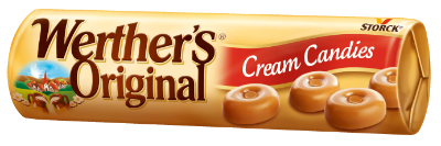 Werther´s Original Cream Candies - Smotanové karamelky