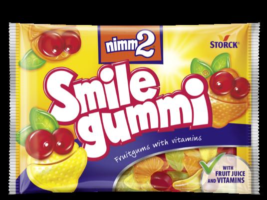 nimm2 Smilegummi - Sadni gumijevi bonboni z vitamini
