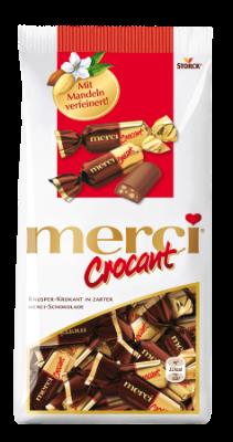 merci Crocant - Pralineji s krokantom in mlečno čokolado