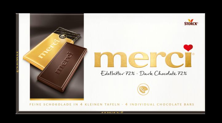 merci temna čokolada 72% - Temna čokolada