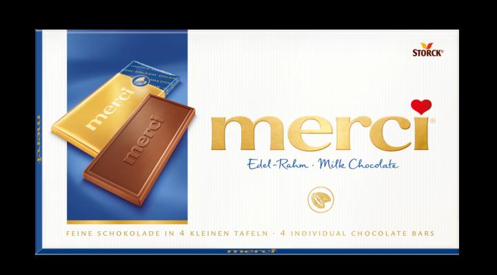 merci mlečna čokolada - Mlečna čokolada