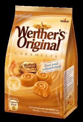 Werther's Original pralineji - Caramelts - Karamelno mlečna specialiteta