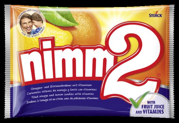 nimm2 caramelo duro con relleno - Jugosos caramelos rellenos con vitaminas