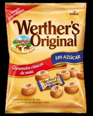 Caramelo clásico sin azúcar - Caramelos de mantequilla y nata sin azúcar con edulcorantes