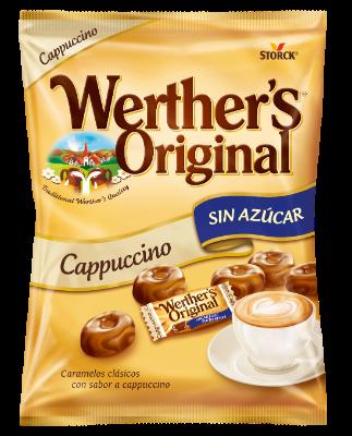 Caramelos clásicos sabor a cappuccino sin azúcar - Caramelos clásicos con sabor a cappuccino con edulcorantes