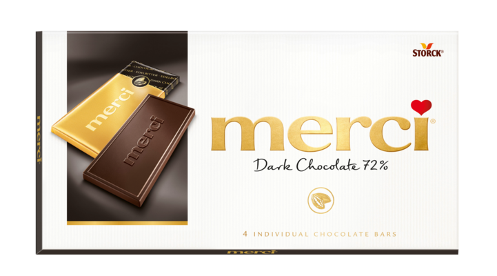 merci Chokladkaka Mörk Choklad - Mörk choklad/Mørk chokolade