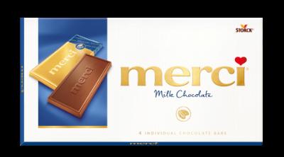 merci Tablets Milk - Mjölkchoklad/mælkechokolade